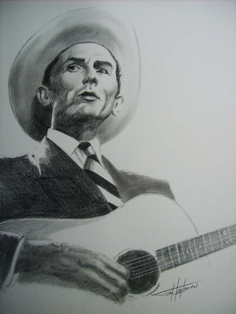 Hank Williams by Tom-Heyburn